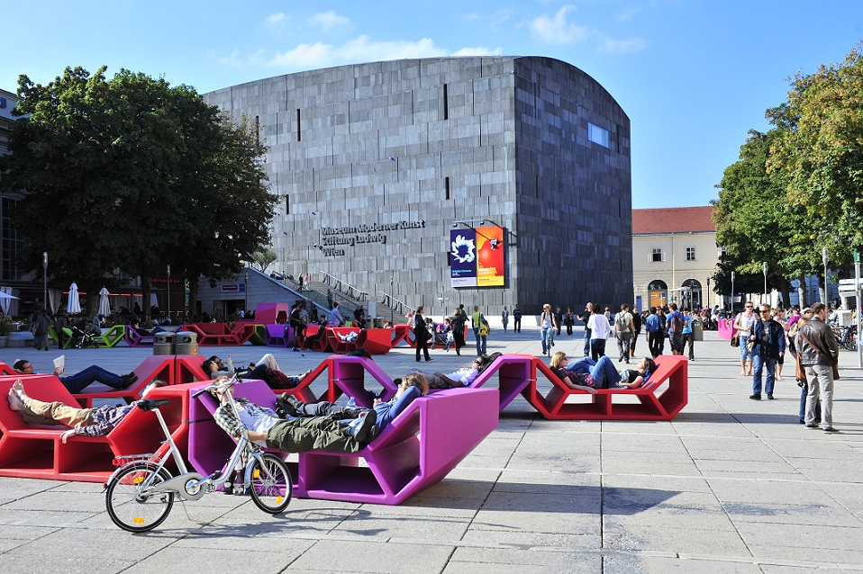 museumsQuartier by Wolfgang Simlinger
